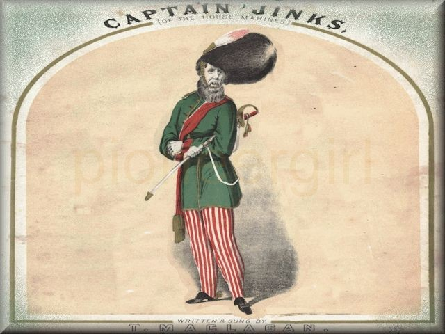 """Captain Jinks"""