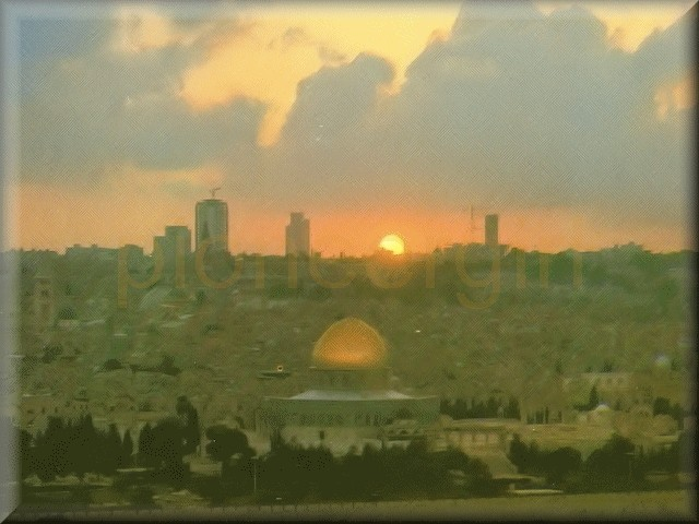 """Jerusalem the Golden"""