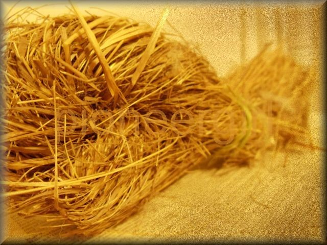 twisting hay