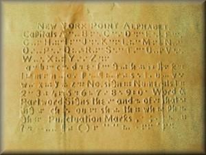 New York Point / Braille