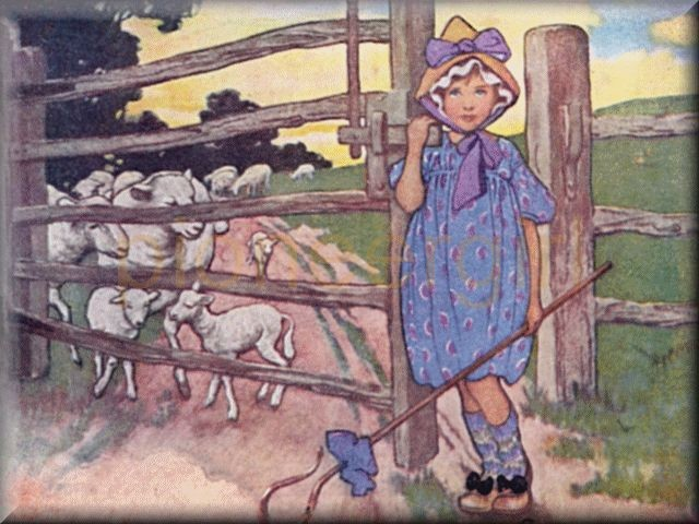 """Bo-peep has lost her sheep"""
