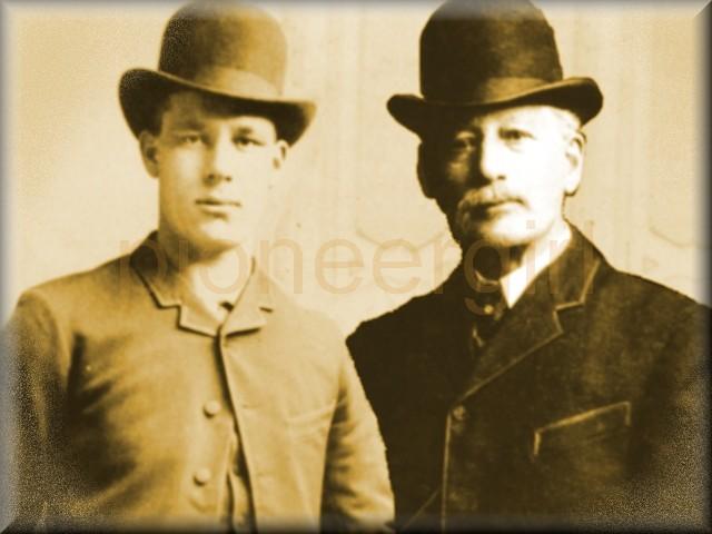 Edelbert Harthorn family / Frank Harthorn & Mabel Burd