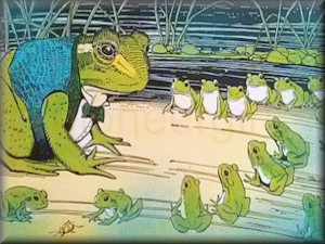 """Frogs at School"""