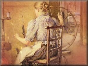spinning wheel / spinning-wheel