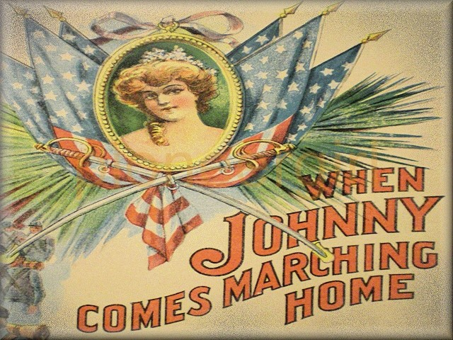 """When Johnny Comes Marching Home"""