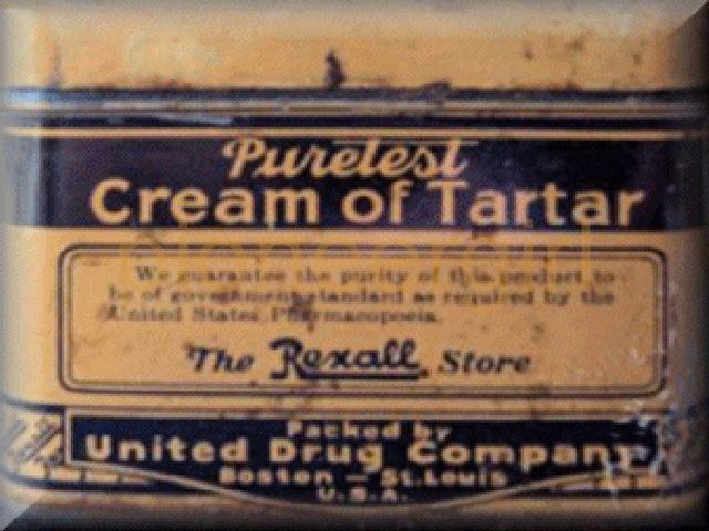 cream of tartar / baking powder