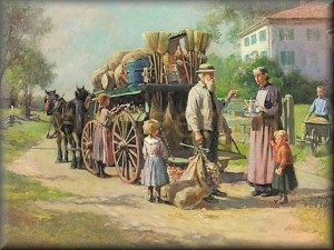 peddler's cart / wagon