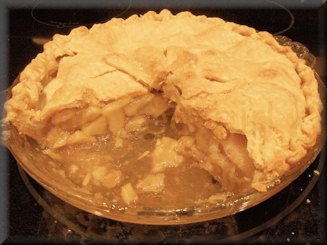 apple pie / dried apple pie