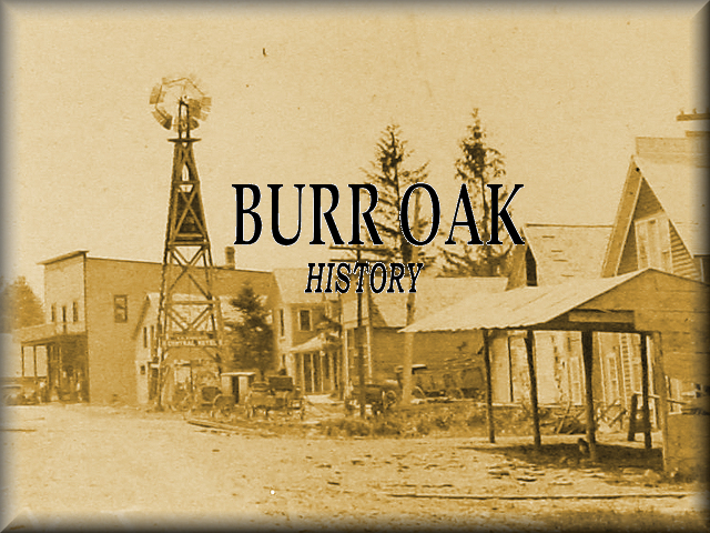 Burr Oak during the Little House years