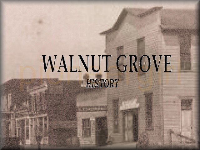 Walnut Grove during the Little House years